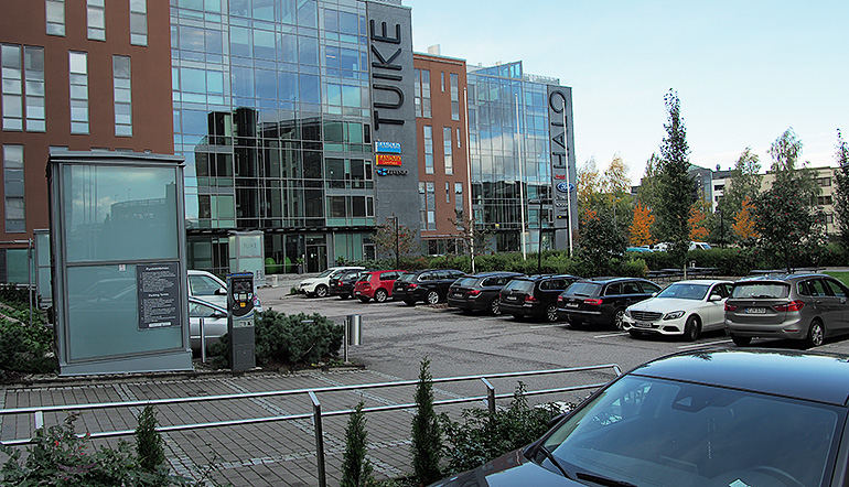 P-Plaza Business Park, Vantaa