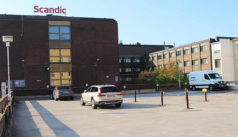 P-Scandic Oulu Station